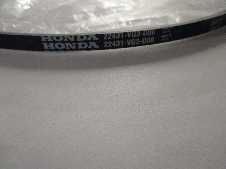 Amazon.com: Honda 22431-vg3-d00 Correa de transmisión (3l ...