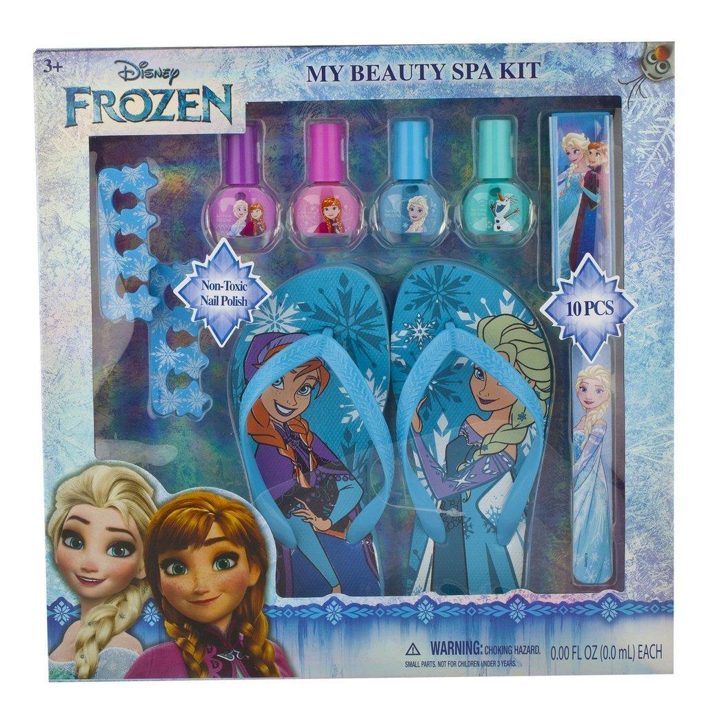 Amazon.com: Townley Girl Disney Frozen Beauty Kit, Lip balms ...