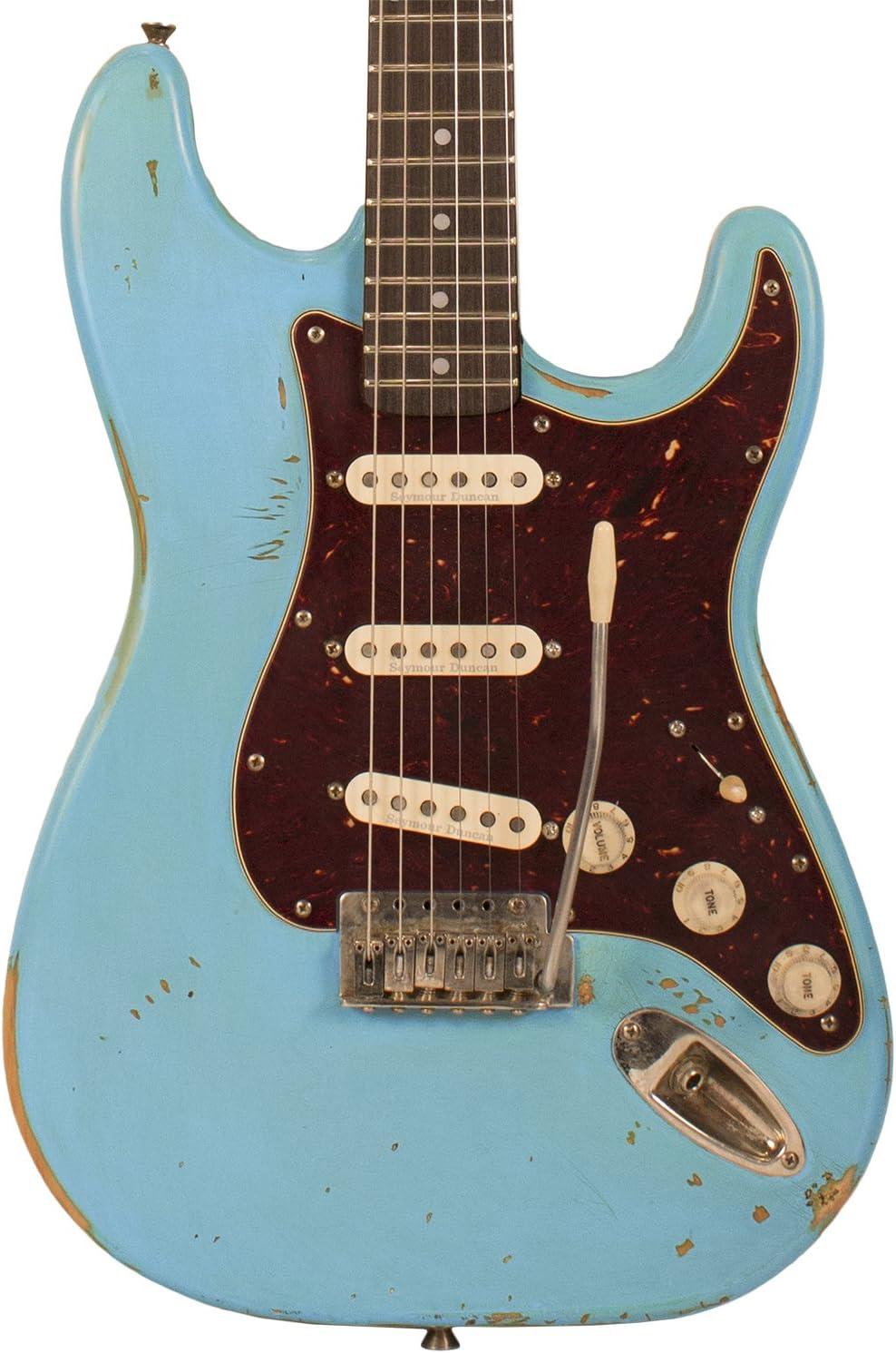 Diente de Sierra Americana reliquia serie es guitarra eléctrica ...