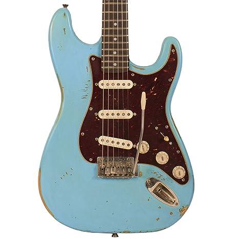 Diente de Sierra Americana reliquia serie es guitarra eléctrica con ...