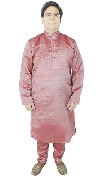 kurta pijama bordado seda tradicional indio vestido de novia -s