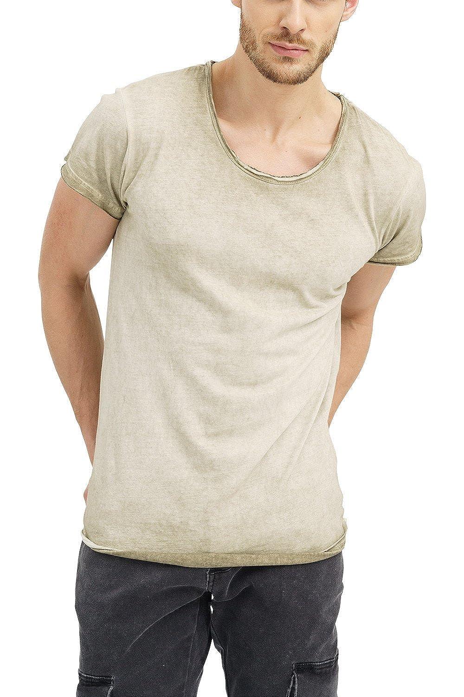 trueprodigy Casual Hombre Marca Camiseta Basico Ropa Retro Vintage Rock Vestir Moda Cuello Redondo Manga Corta Slim fit Designer Fashion t-Shirt