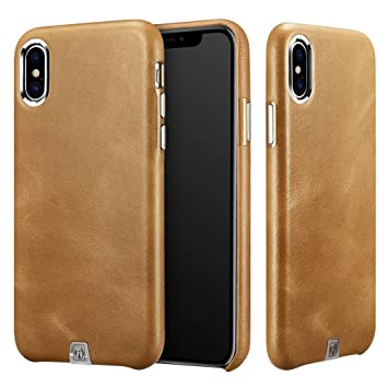coque cuir iphone x