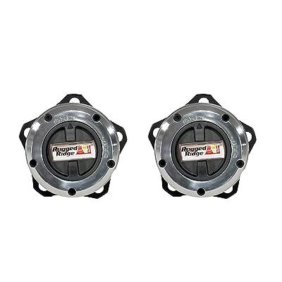 Rugged Ridge 15001.26 27 Spline 5-bolt Mount Manual Locking Hub: Automotive