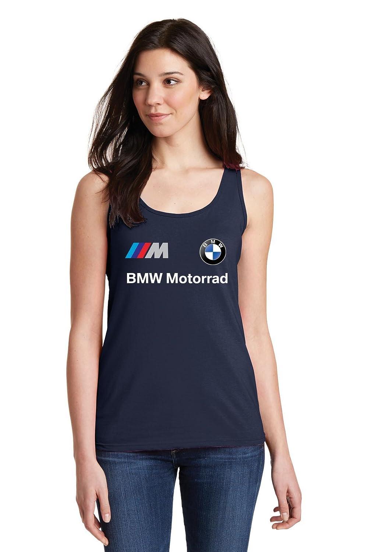 ZETAMARKT Tshirt Canotta Donna BMW Motorrad Rally Racing Personalizzata