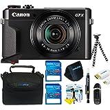 Canon PowerShot G7 X Mark II Digital Camera + Pixi-Basic Accessory Kit- International Version