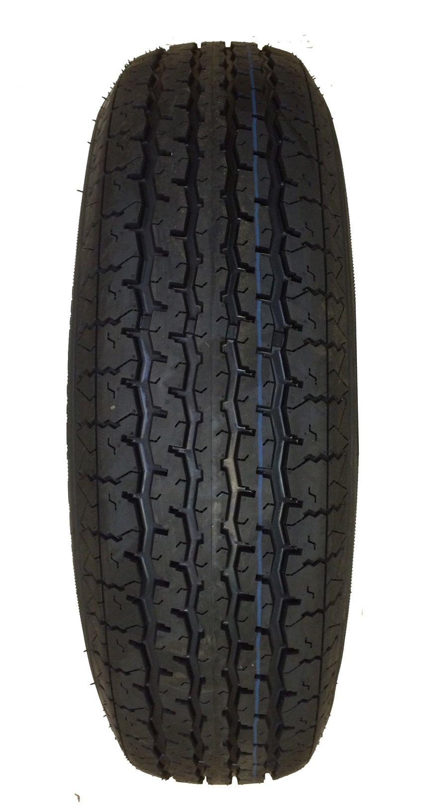 Set of 2 New Trailer Tires ST 205/75R15 8PR Load Range D