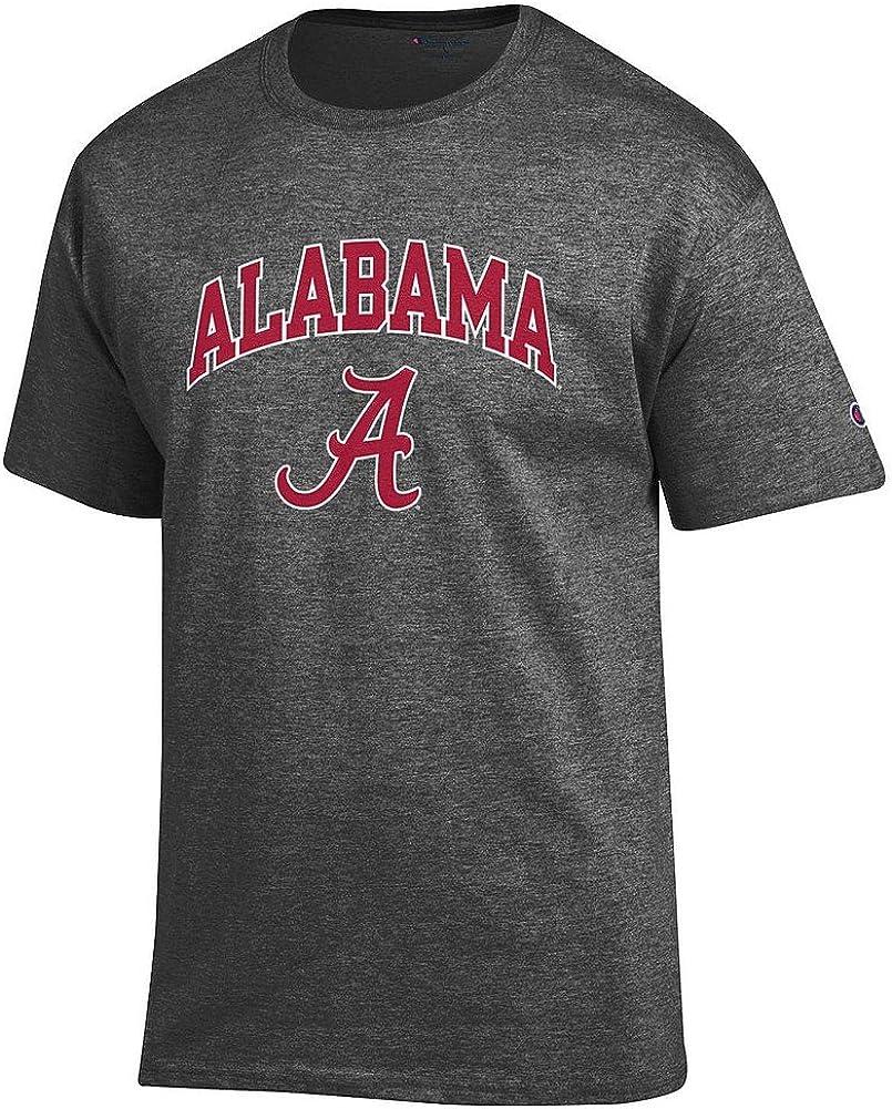 Elite Fan Shop NCAA Men's Short Sleeve T-Shirt Charcoal Arch