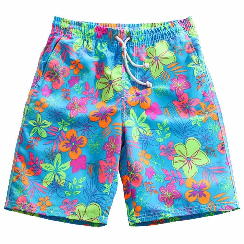 Swim Trunks Quick Dry Vivid HD Various Flower Beach Shorts Board for Men