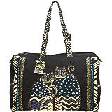 Laurel Burch Polka Dot Gatos Shoulder Bag