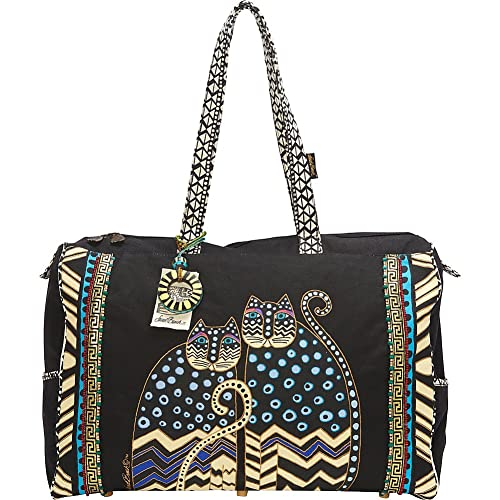 fe6c536a7973 Amazon.com  Laurel Burch Travel Bag with Zipper Top