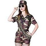 Amazon.com: Sexy CAMUFLAJE Ejército Traje Soldado Disfraz ...