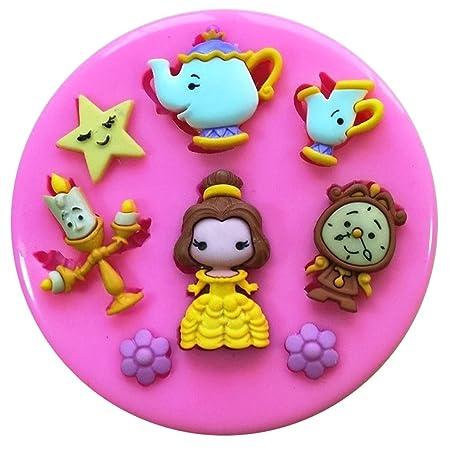 Fairie Blessings Molde de silicona para decoración de tartas ...