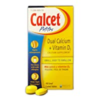 Mission Pharmacal Calcet Petites, 100 Small Coated Tablets
