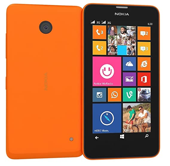 821f8bb8b2a Nokia Lumia 635 rm-975 Desbloqueado gsm LTE Windows 8.1 Quad-Core teléfono  - Naranja: Amazon.com.mx: Electrónicos