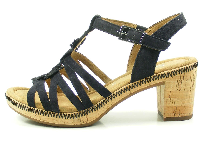 Gabor 82-776 Sandalias Fashion de Cuero Mujer 37.5 EU