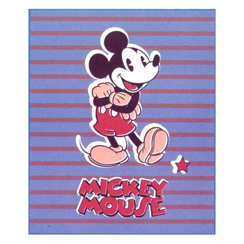 Disney Mickey Mouse Design Large Polar Fleece Blanket (125 x 160cm)
