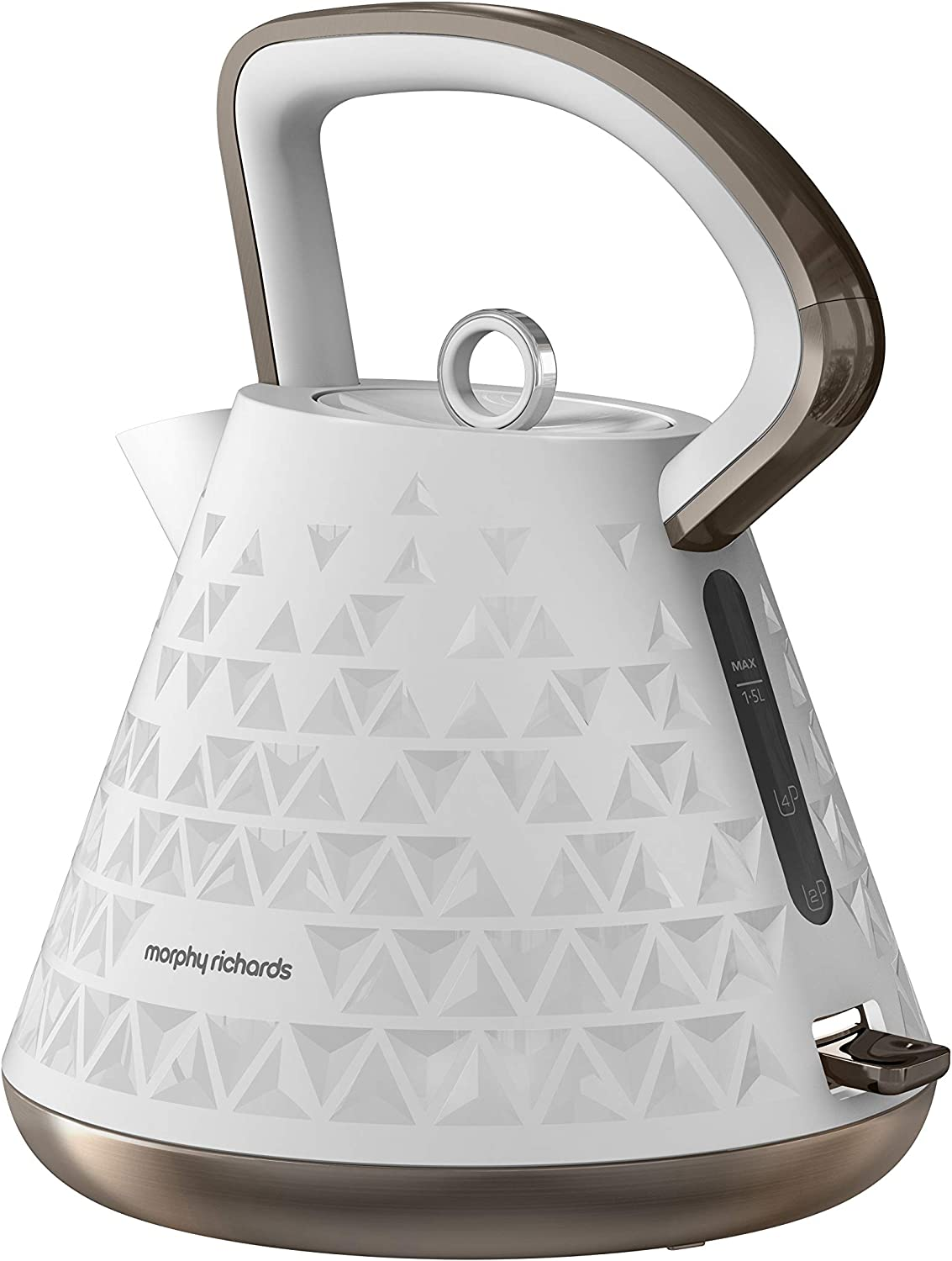 Morphy Richards 108102 Prism Kettle White
