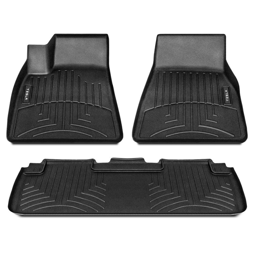 Tesla Motors Official All-Weather Model S Interior Floor Mat