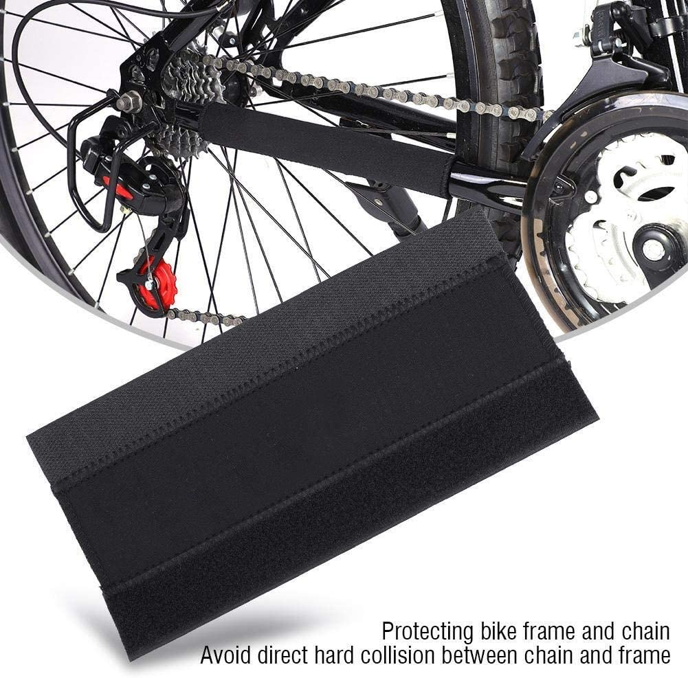 KSTE DUUTI 2pcs Cycling Bicycle Bike Frame Chain Protector Sticker Guard Pad Cover Wrap
