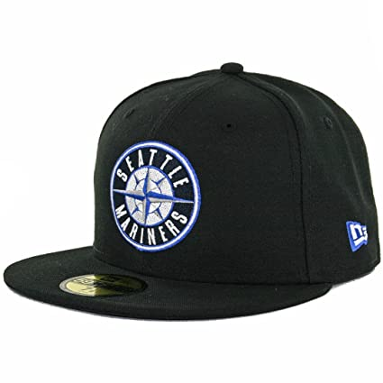 07e62ff9c84 Image Unavailable. Image not available for. Color  New Era 59Fifty Seattle  Mariners Fitted Hat ...
