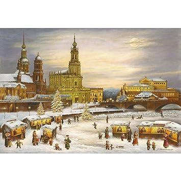 Adventskalender Dresden Brühlsche Terrasse Und Hofkirche Amazon