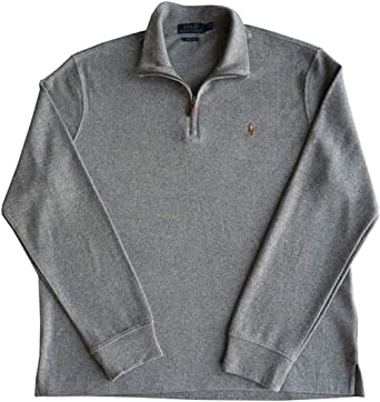 Polo Ralph Lauren Jersey para Hombre Gris L: Amazon.es: Ropa y ...