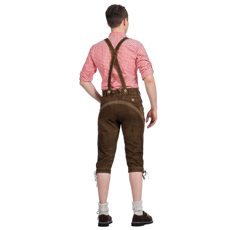 Trend-Promotion Austria Piel Hombre Pantalón Rodillera Pantalones ...