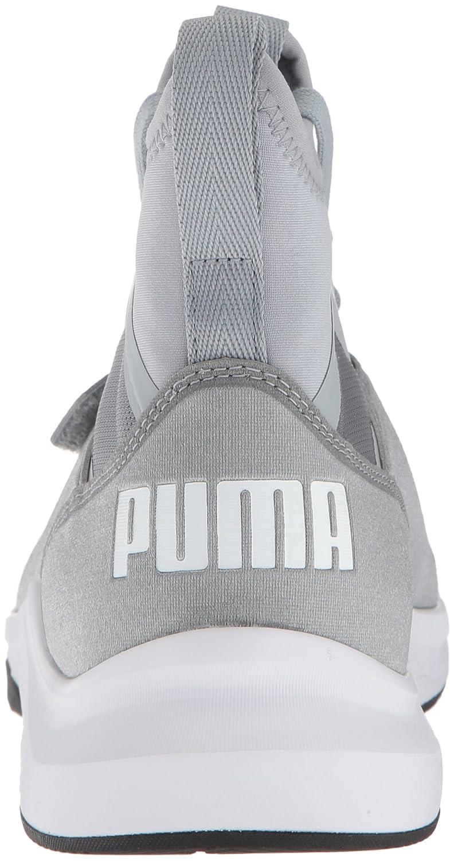 PUMA Women's Phenom Wn Sneaker B071GV34PN 7 B(M) US|Quarry-puma White