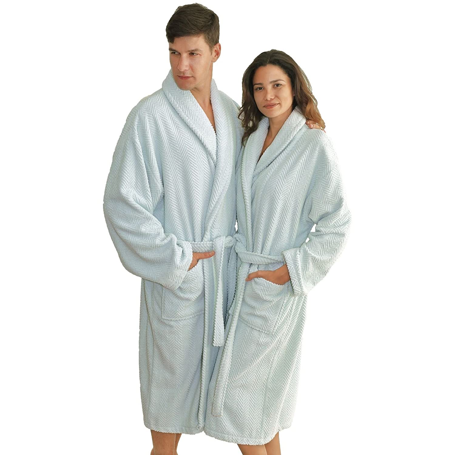 Amazon.com  Linum Home Textiles 100% Turkish Cotton Unisex Terry Cloth  Bathrobe bfad3a838