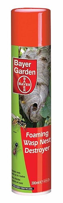Bayer Garden Foaming Wasp Nest Destroyer: Amazon.co.uk: Garden U0026 Outdoors