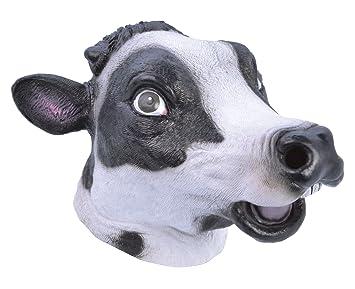 Bristol Novelty bm486 Vaca Máscara (Talla única)