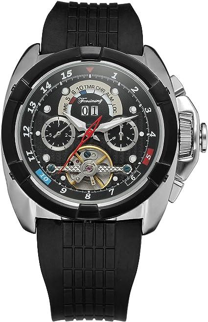 Reloj Forsining automático de pulsera para hombre con calendario ...