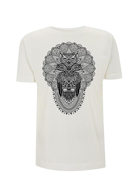 Generico T-Shirt Classica Stampata Gufo Maglietta di Cotone 100% con Stampa  Digitale Personalizzabile Owl Civetta Tattoo  Amazon.it  Abbigliamento f5aff2b0bb3