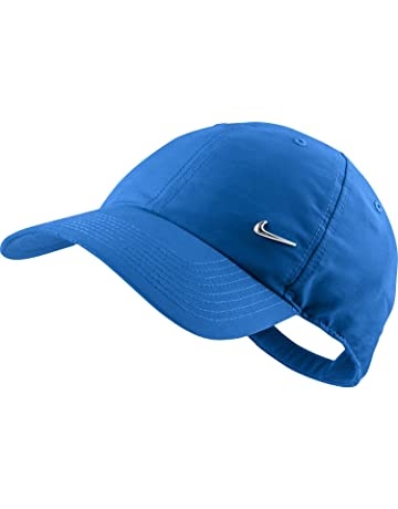 779640dda01 Nike Men s Swoosh Cap-Blue White