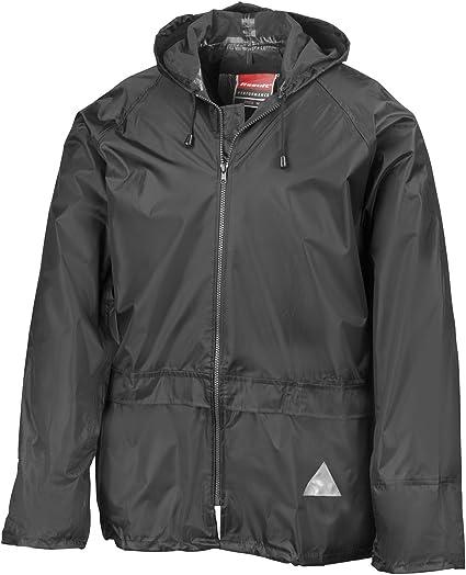 Regen Anzug Größe Xl Regenset Bestehend Aus Jacke Und Hose Absolut Wasserdicht Farbe Schwarz Lieferbar Von Gr S Xxl Xl Bekleidung
