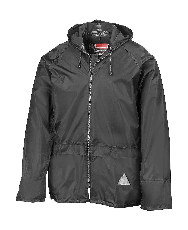 lieferbar von Gr REGEN-ANZUG Regenset bestehend aus Jacke und Hose S Farbe schwarz XXL M Gr/ö/ße M, absolut wasserdicht