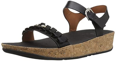 38e2249ea FitFlop Women s Ruffle Back-Strap Sandals