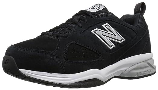 New Balance Men's MX608V4 Training Shoe,Black,8.5 D US