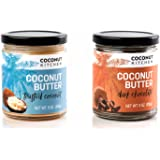 Coconut Kitchen Toasted & Dark Chocolate Coconut Butter Organic Coconut & Vanilla Gluten-free Peanut-free Dairy-free No Refined Sugar (2-pack 9 oz jars)