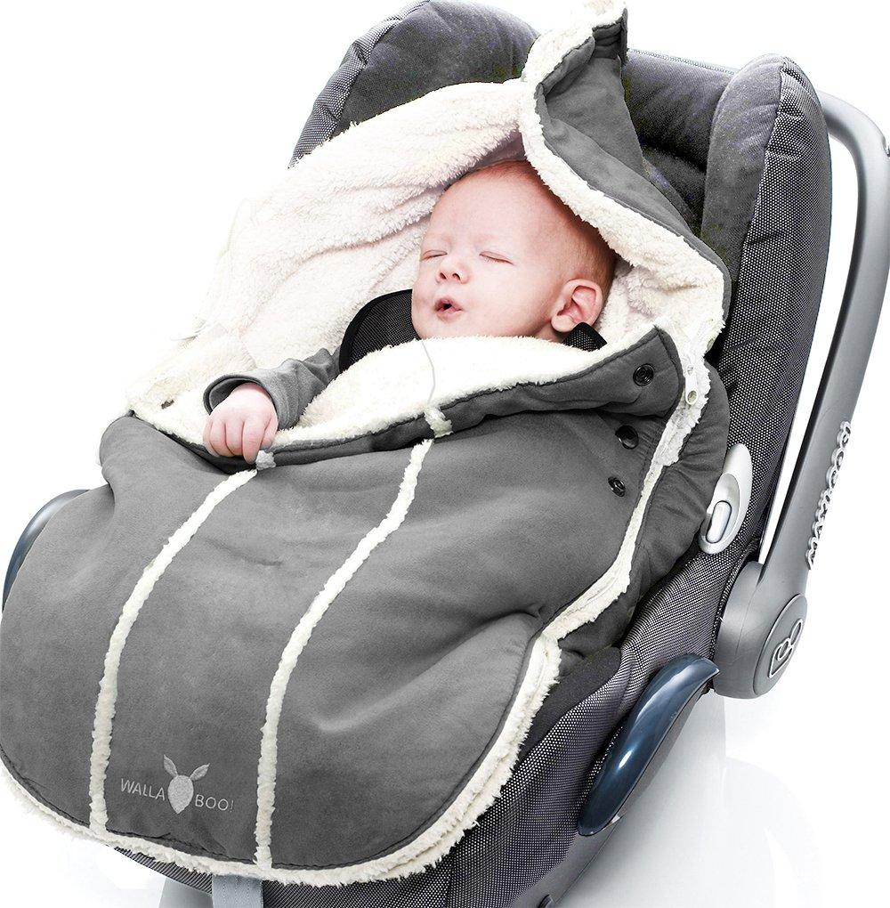 Wallaboo Saco de Abrigo Universal para Cochecito - de 0 a 12 meses - Resistente al