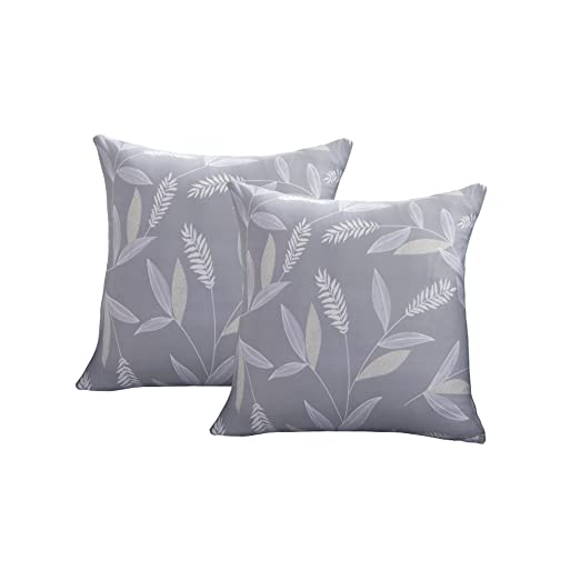 ENZER Funda de sofá Tejido Elástico Flor Pájaro Sofá Proteger Cubre sofá 1 2 3 Plazas (Bambú, Dos almohada abrigo)