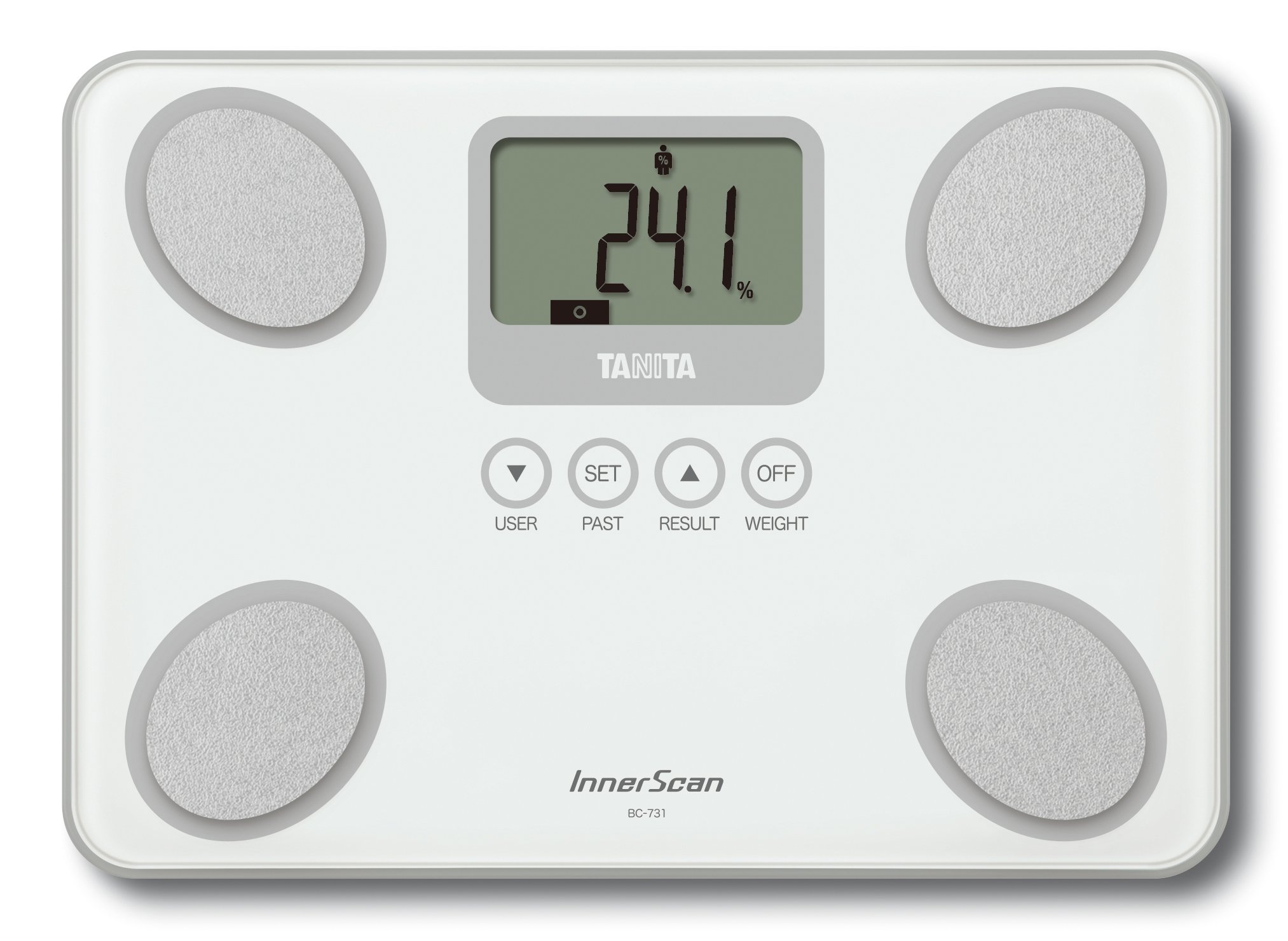 Tanita InnerScan Body Composition Monitor Scale - White