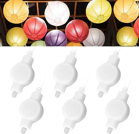 36 LED PINK Submersible balloon paper lantern light Wedding Party Decoration