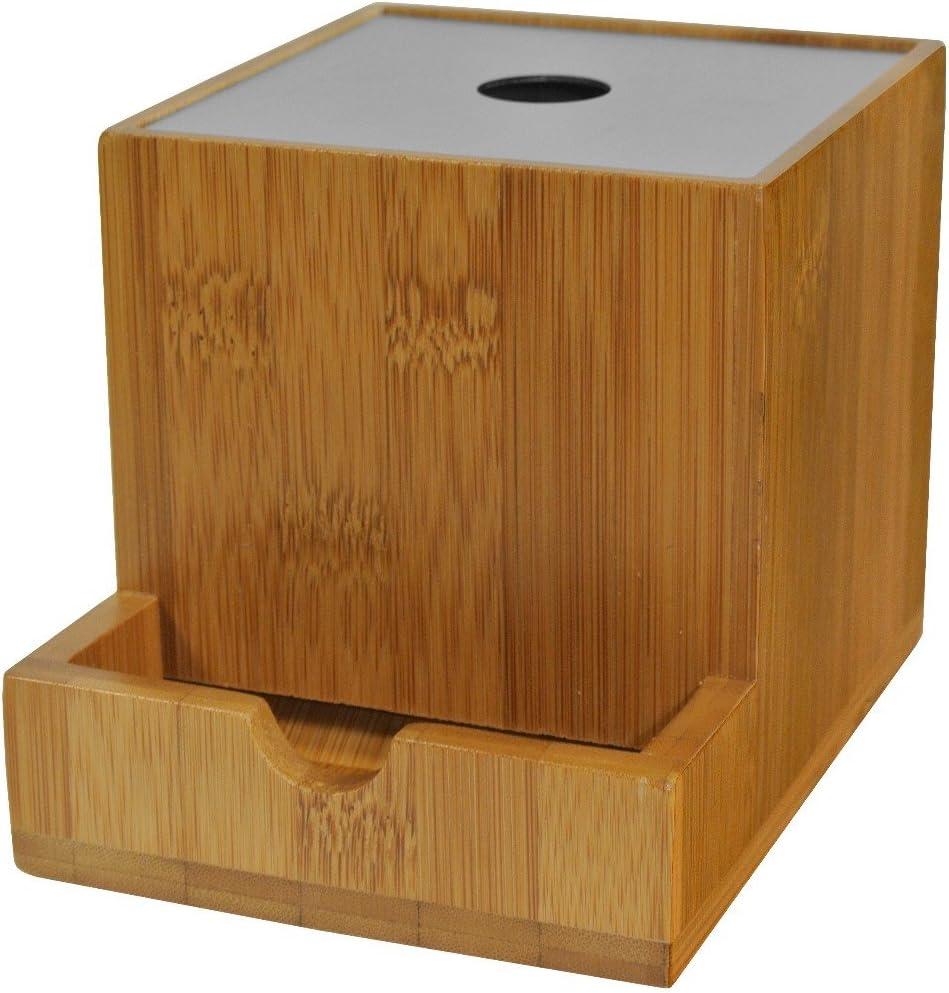 Z/éro Plastique en Emballage Cotons-tiges en Bambou Biologique Ecologique et 100/% Biod/égradable 1000 Unit/és avec Boite de rangement en Bambou Offerte