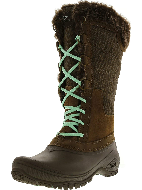c24471139 The North Face Shellista II Tall Boots - Women's Desert Palm Brown/Surf  Green 5
