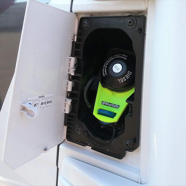 Adblue Deckel Sicherung Tanksicherung Für Tankverschluss Tankdeckel Typ Fia T Ducato Adbluesafe Neon Gelb Auto