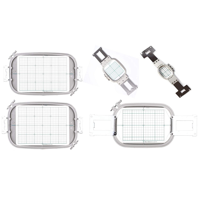 HONEYSEW Hoop /& Grid Set for Brother /& Baby Lock Multi-needle Machines Replaces PRH60 PRH100 PRH180 PRH300 /& PRF300 PR5IN1