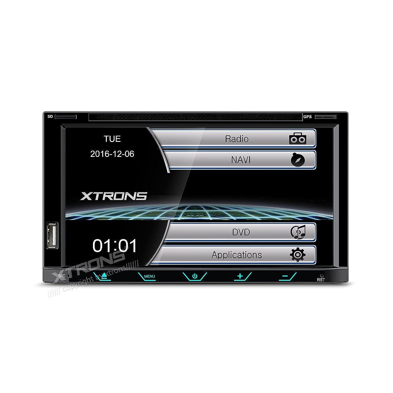 Sound System 2 Din Xtrons USB SD MP3 GPS Bluetooth Mirror ...