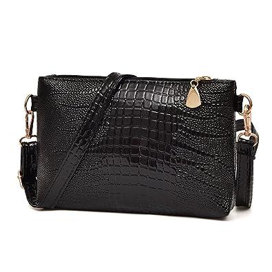 d6267d13c414 Yuan Clearance Handbag Crocodile Pattern Shoulder Bag Cross Body Bag Tote Ladies  Purse  Amazon.co.uk  Shoes   Bags